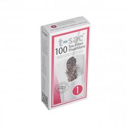 Χάρτινο Σουρωτήρι Για Τσάι 100 τεμαχίων