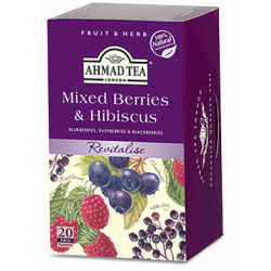Τσάι Ahmad Ανάμικτα Φρούτα Δάσους & Ιβίσκος 20 τεμαχίων