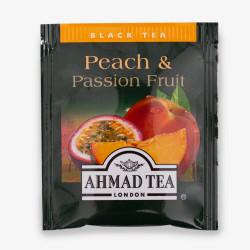 Τσάι Μαύρο Ahmad Ροδάκινο & Φρούτα Πάθους 500 τεμαχίων