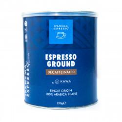 Καφές Espresso Ipanema Ντεκαφεϊνέ Αλεσμένος 250gr