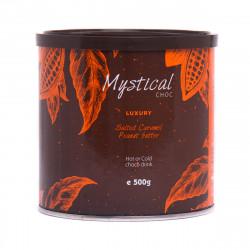 Σοκολάτα Mystical με Αλατισμένη Καραμέλα Και Φυστικοβούτυρο 500gr