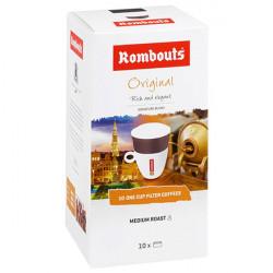 Καφές Φίλτρου Rombouts One Cup 10 τεμαχίων