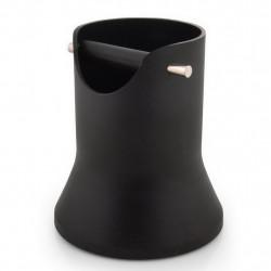 Δοχείο Χτυπήματος Κλείστρου Crema Pro Kcb Μαύρο 175mm