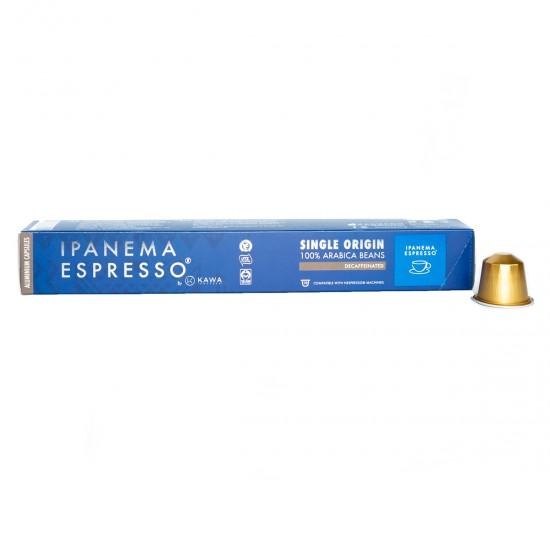 Κάψουλες Espresso Ipanema Αλουμινίου Decaf 10 τεμαχίων