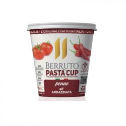Πένες με Σάλτσα Arrabbiata Berruto Pasta Cup (με ντομάτα & πιπεριά τσίλι) 70 γρ.