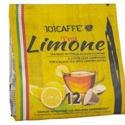 Κάψουλες Συμβατές Με Nespresso 101Caffè Tea Nero A Limone 12 τεμαχίων