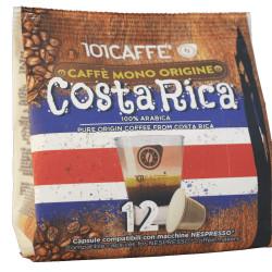 Κάψουλες Συμβατές Με Nespresso 101Caffè Costa Rica 12 τεμαχίων