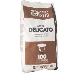 Κάψουλες Συμβατές Με Nespresso 101Caffè Delicato 100 τεμαχίων