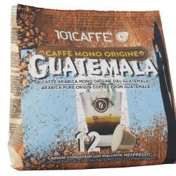 Κάψουλες Συμβατές Με Nespresso 101Caffè Guatemala 12 τεμαχίων