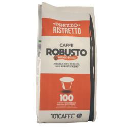 Κάψουλες Συμβατές Με Nespresso 101Caffè Robusto 100 τεμαχίων