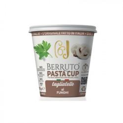 Ταλιατέλες με Σάλτσα Μανιταριών Berruto Pasta Cup 70 γρ.