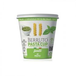 Ζυμαρικά Βίδες με Σάλτσα Pesto Berruto Pasta Cup (με βασιλικό) 70gr.