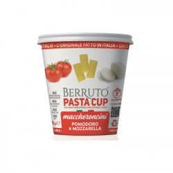 Μακαρόνια με Σάλτσα Pomodoro Berruto Pasta Cup (ντομάτα & μοτσαρέλα) 70gr.